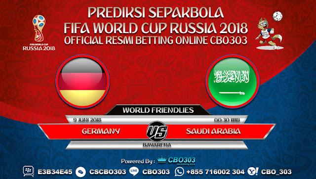 Prediksi Bola Germany VS Saudi Arabia 09 Juni 2018