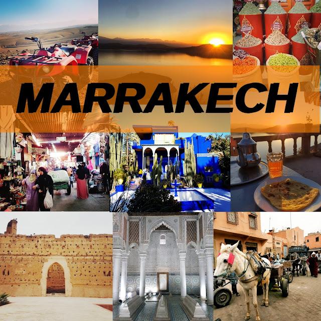 voyages, #bonplan#, marrakech,maroc , Arrivée à MARRAKECH       Riad Aloes     Marrakech Quad Evasion   ( Dans le désert AGAFAY )    Visite:   Tombeaux saadiens   Palais Bahia  Palais El Badi     Riad Danka     Place jemaa el-Fna    Souk