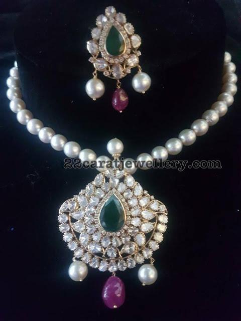 Uncut Diamond Pachi Pendant