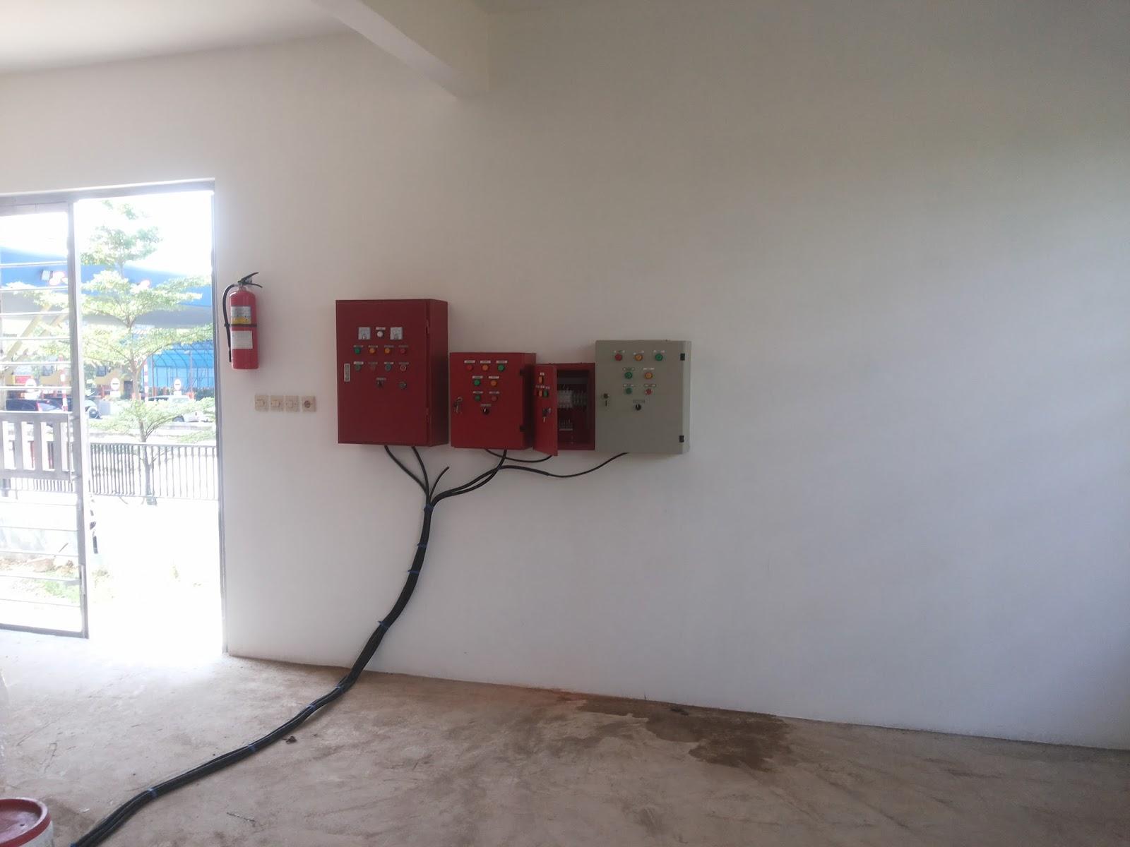 Pompa Hydrant Control Panel