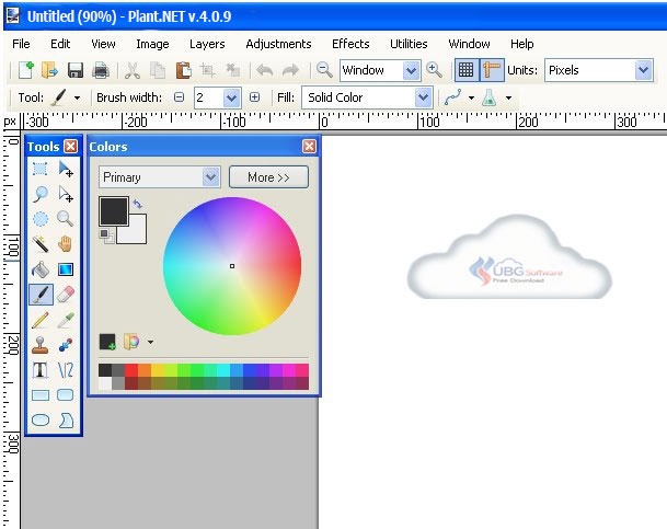 Download Software Paint.NET Terbaru - UBG Software