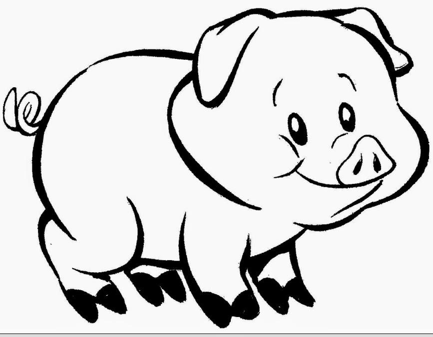 Desenhos Para Colorir Animais Domesticos