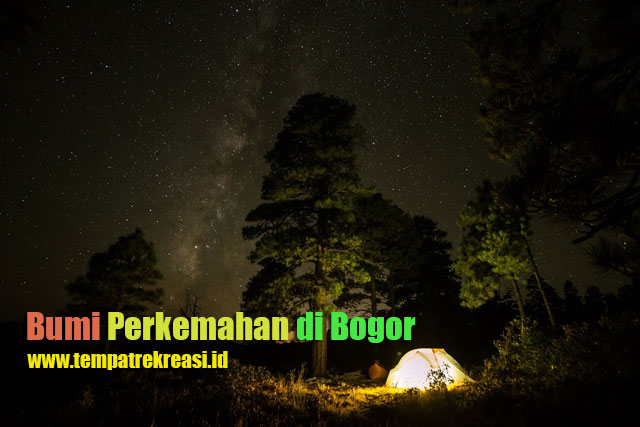 Bumi Perkemahan di Bogor