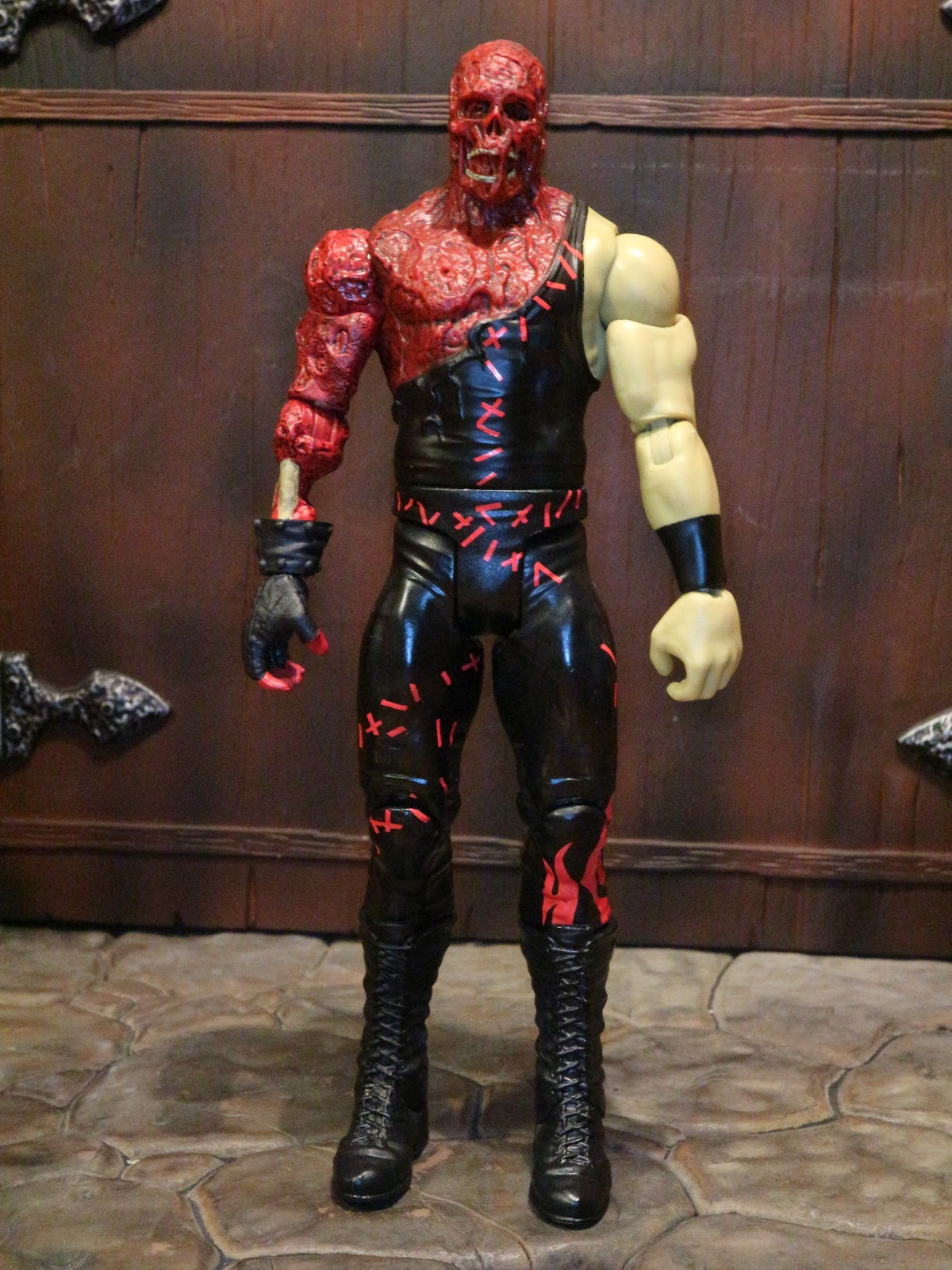 action figure barbecue action figure review kane from wwe zombies by mattel. Black Bedroom Furniture Sets. Home Design Ideas