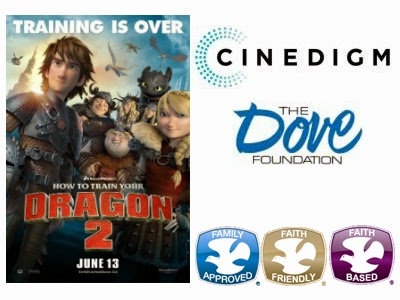 """How to Train Your Dragon 2"" received 5 Dove Seals and  could potentially end on on the upcoming Dove Channel."
