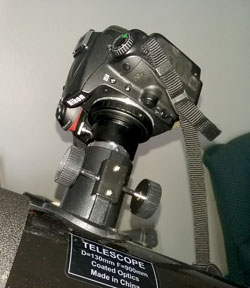 Telescope mount adapter