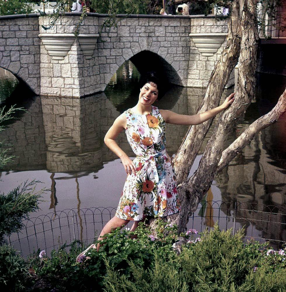 Disneyland Fashion Shoot, 1961