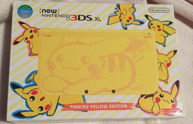 Mira cómo es la New 3DS XL Yellow Edition 2