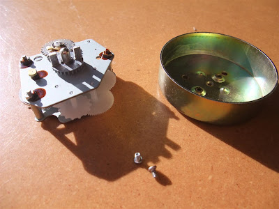 Disassemble Kitchen Timer Bell Ticking