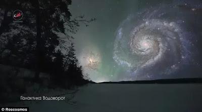 Seperti Ini , Penampakan Objek Luar Angkasa Jika Dekat Bumi