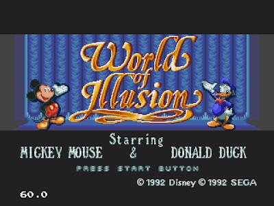 【MD】米老鼠和唐老鴨大冒險原版+Hack無敵版,迪士尼改編動作遊戲!