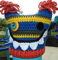 http://www.ravelry.com/patterns/library/ugly-monster-hat-pattern