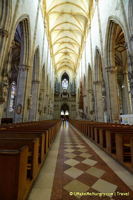 Interior of Ulm Minister