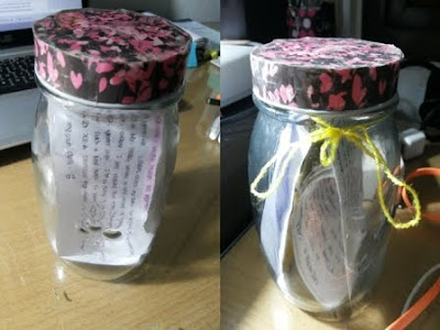 DIY Memories Jar - Botol Memory/Toples Kenangan Just 4 U