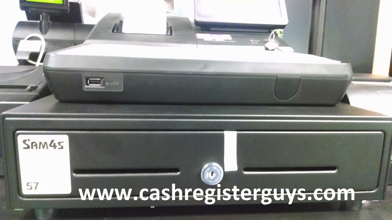 SAM4s SPS-530F cash drawer