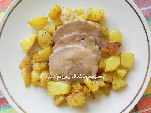 Arrosto di tacchino con patate le torte di antonella for Quando seminare le patate