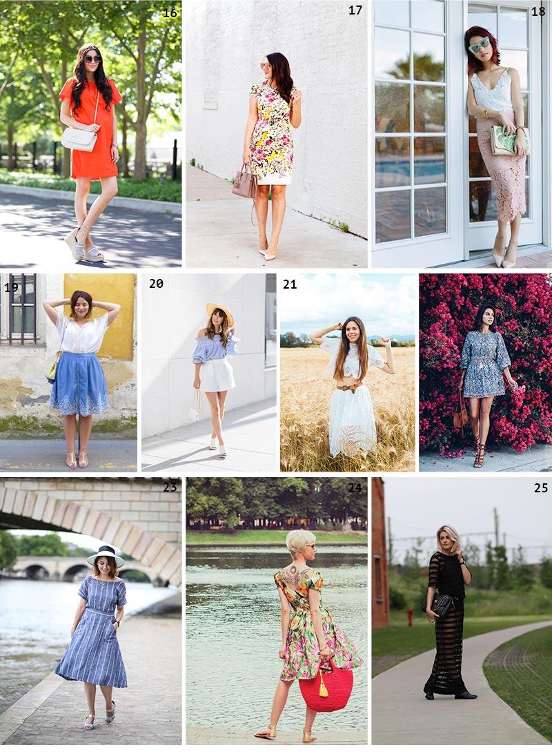 Looks de blogueuses