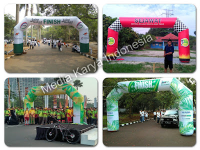 Balon Gate, Balon Gapura, Balon Start Finish