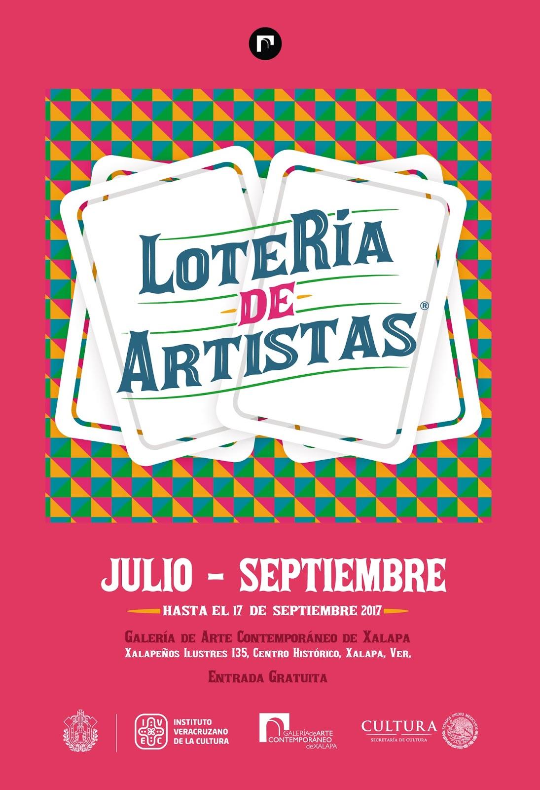 Galería de Arte Contemporáneo de Xalapa: Exposición LoteRía de Artistas
