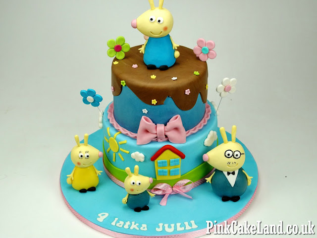 Peppa Birthday Cake London