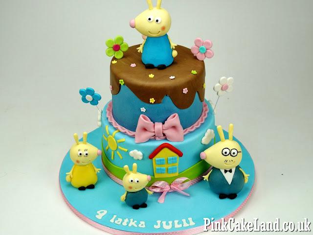 Peppa Birthday Cake London