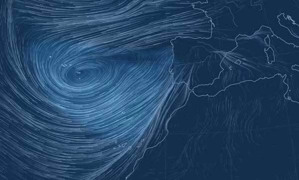 La borrasca Emma afectará a Canarias, miércoles 28 febrero