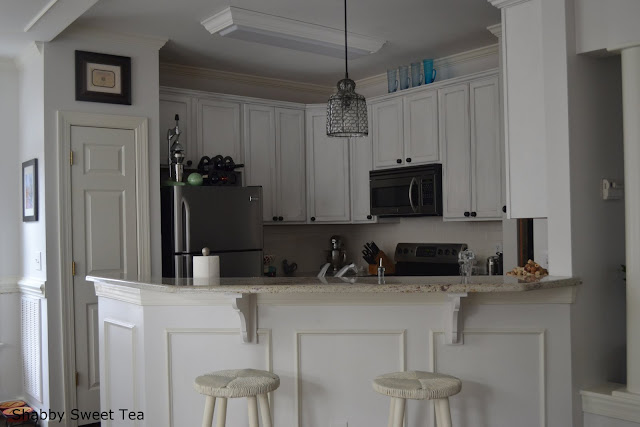 chalk paint annie sloan kitchen diy white