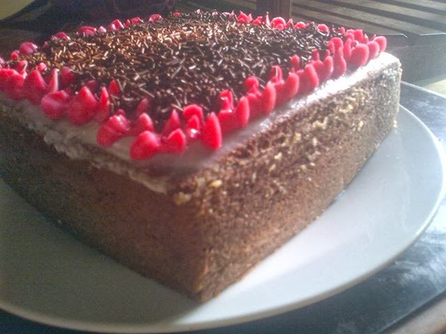 Resep Cake Coklat Kukus Ncc: Resep Kue Cake Enak: Cake Coklat Kukus