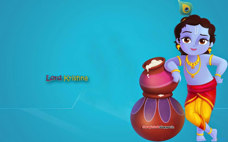 Cute Krishna HD Wallpapers Free Download