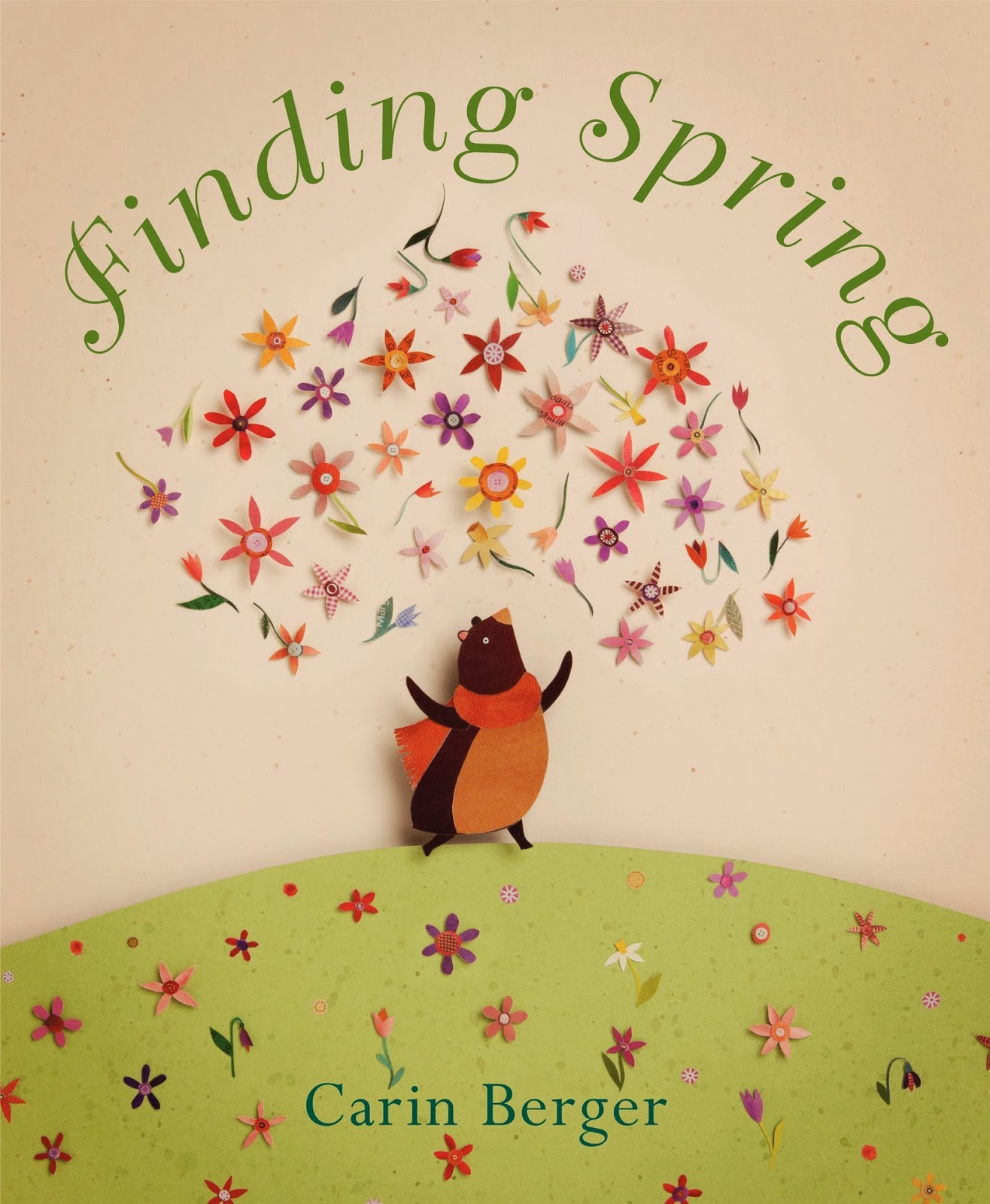 Finding Spring, part of children's book list about spring and changing seasons