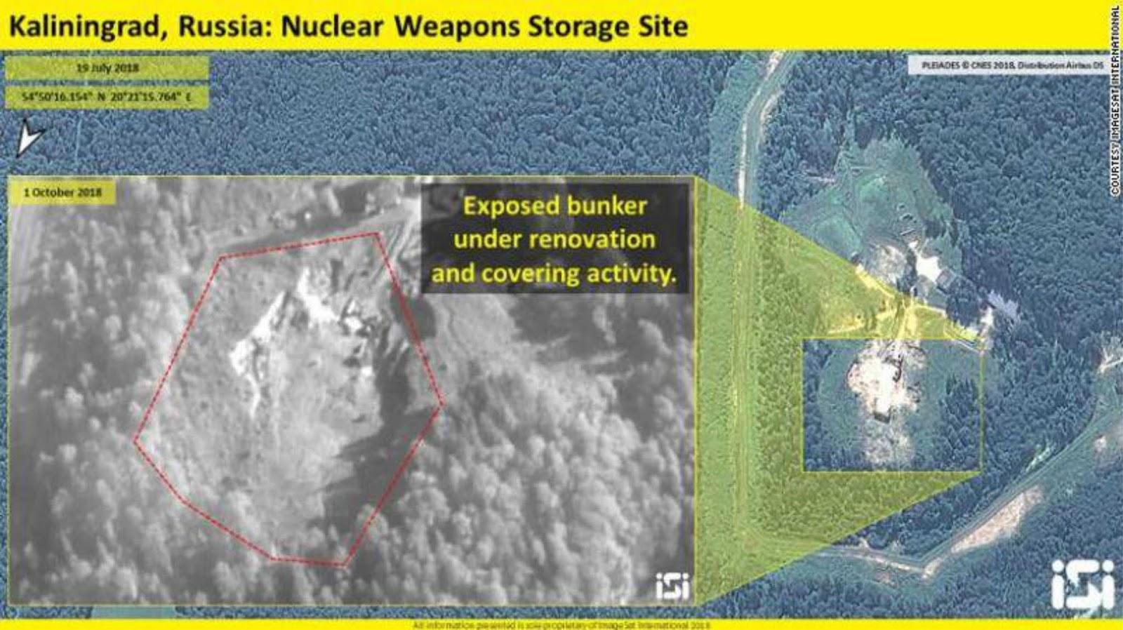 Citra satelit baru menunjukan tentang penumpukan senjata Rusia di kawasan strategis Baltik