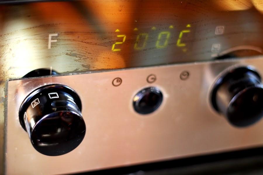 ofen oberhitze unterhitze 200C