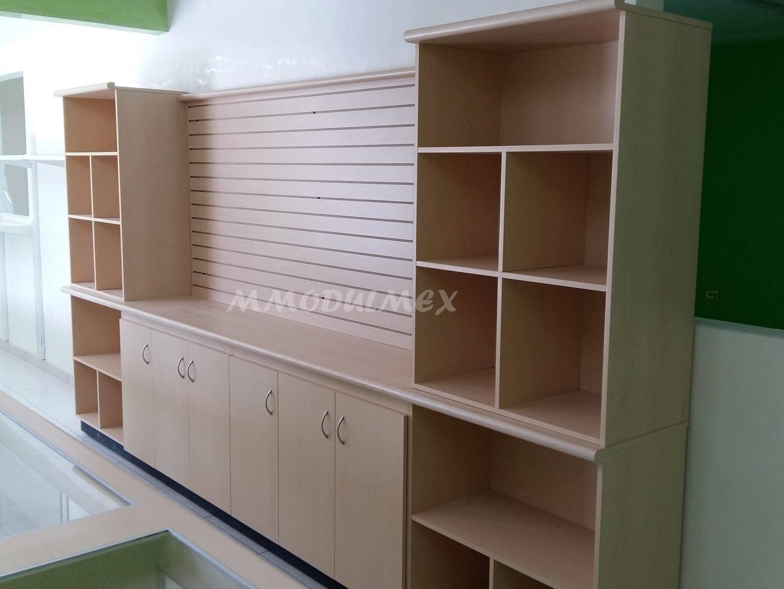 Mostradores vitrinas estantes estanter a anaqueles - Mostradores de madera para negocios ...