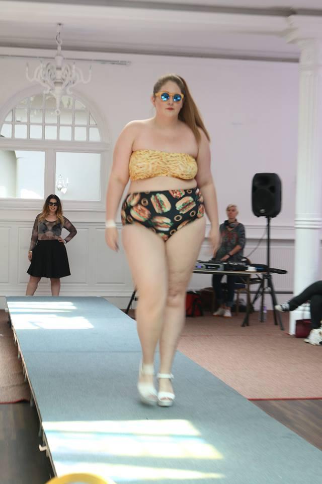 0ed30264fc4 Sian Yapp absolutely rocking a Chubby Cartwheels bikini. Images by Alfie  B-Smith Photography