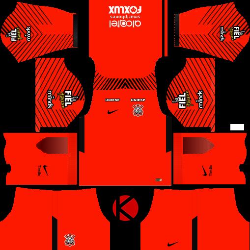 Corinthians 201718 Dream League Soccer Kits Kuchalana