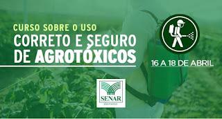 Prefeitura de Cajati e Senar oferecem curso sobre o uso dos agrotóxicos