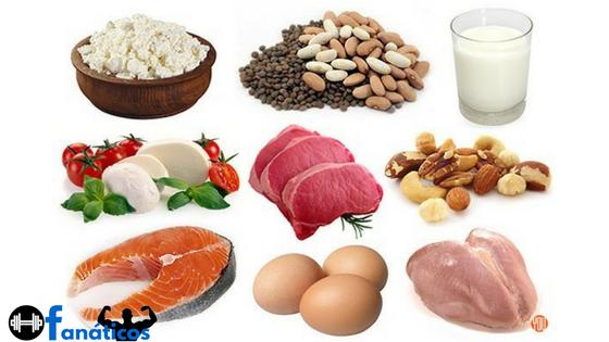 Dieta para Ganhar Massa Muscular - Proteinas