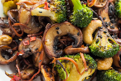 Broccoli and Mushroom Stir-Fry | Vegan Stir Fry Recipes