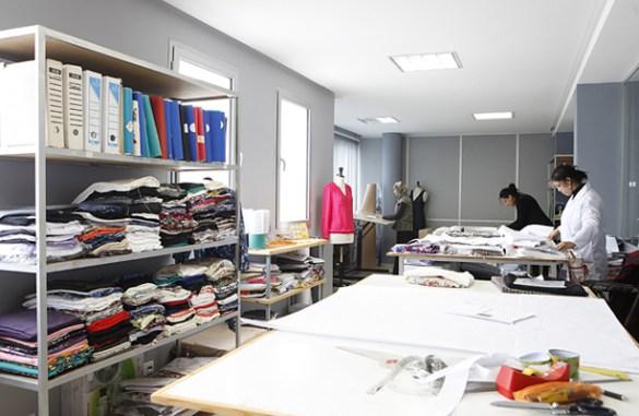 Garment samples development section
