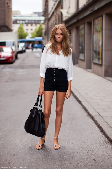 come abbinare gli shorts idee outfit shorts come indossare gli shorts al lavoro outfit estivi shorts street style mariafelicia magno fashion blogger colorblock by felym