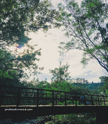 Wisata Baru Pemandian Alam Pondok Bambu Huta Nabolon Tapteng