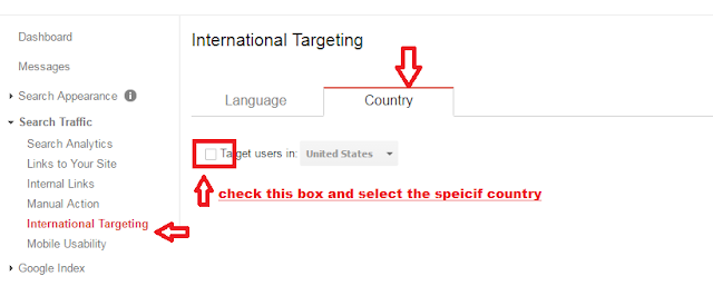 targeting country specific traffic on websites