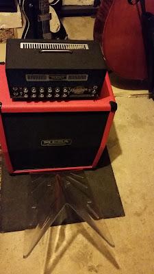 Ampli Mesa Boogie mini rectifier + déflecteur Deeflexx H!1 Aura