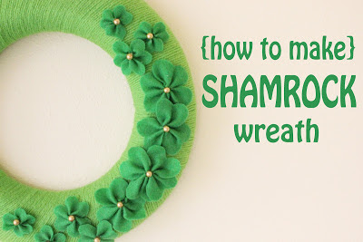 http://makebakecelebrate.blogspot.com.es/2012/02/how-to-make-shankrock-wreath.html