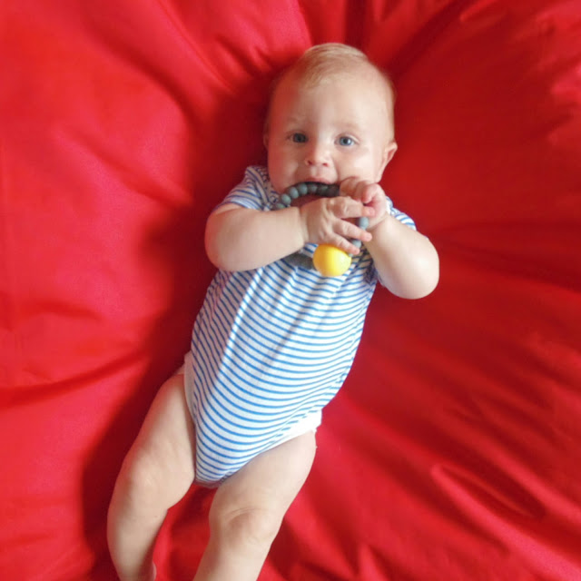 Nibbling teething jewellery review rattle