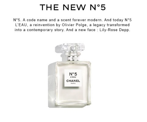 Chanel Free N°5 L'Eau Samples