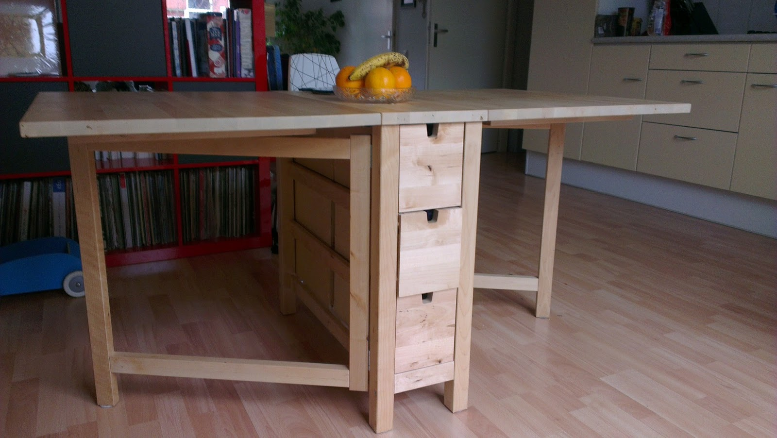 Ikea Vrijdag Norden Klaptafel Gateleg Table