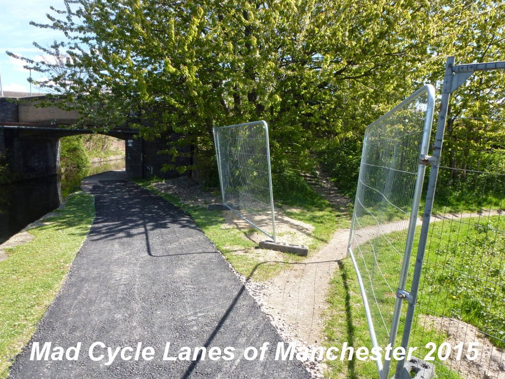Mad Cycle Lanes of Manchester: April 2015