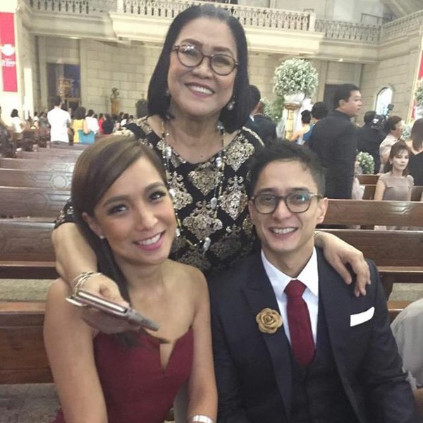 Get It From Boy!: Pia Guanio Attends Vic And Pauleen Wedding