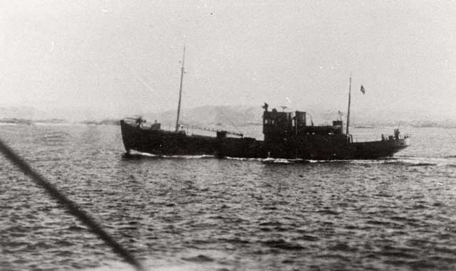 German patrol boat V-5102, sunk on 27 December 1941 (worldwartwo.filminspector.com